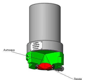 конструкция радарного уровнемера